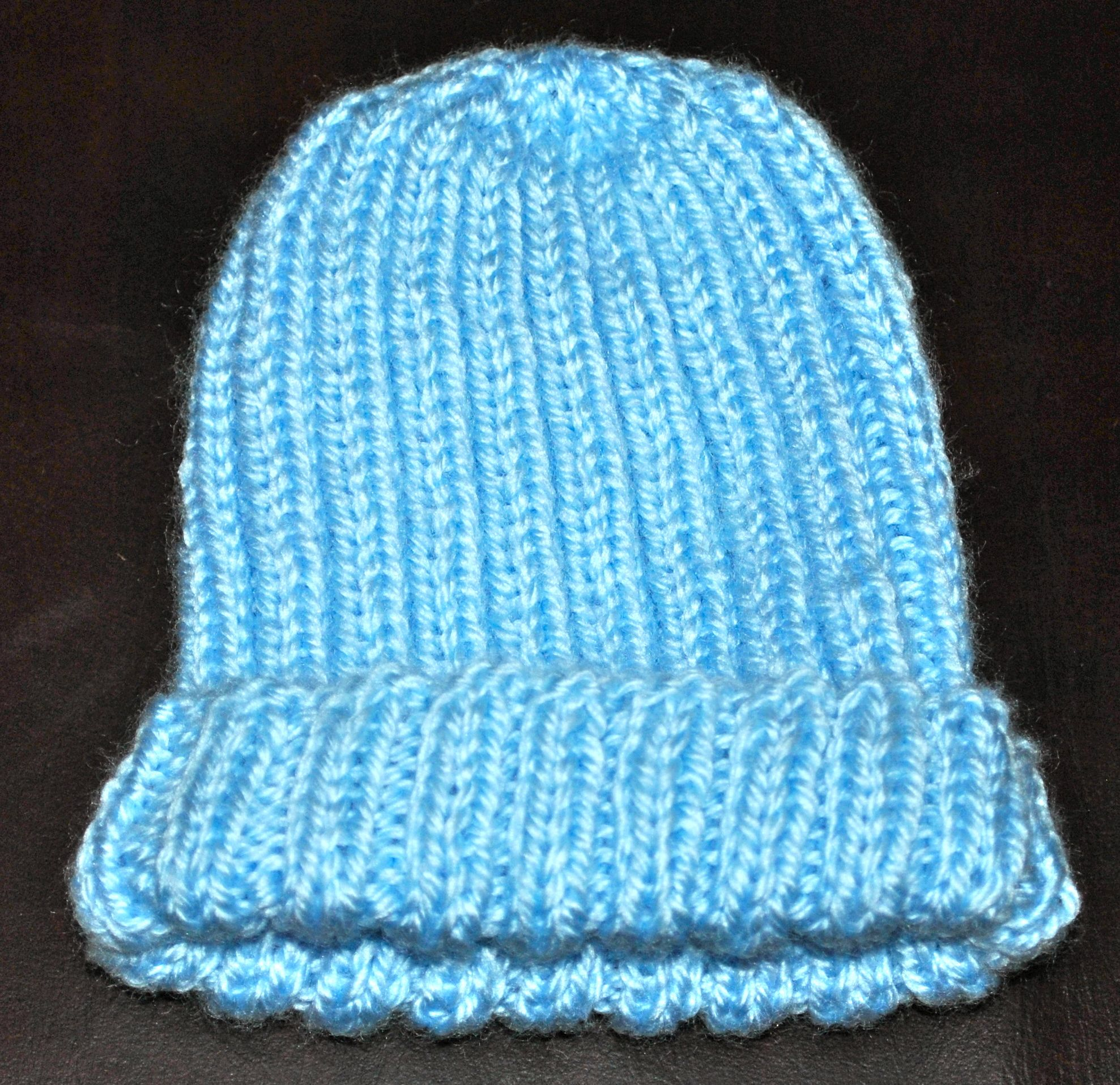 Knitted Baby Beanie Stitch4eveR