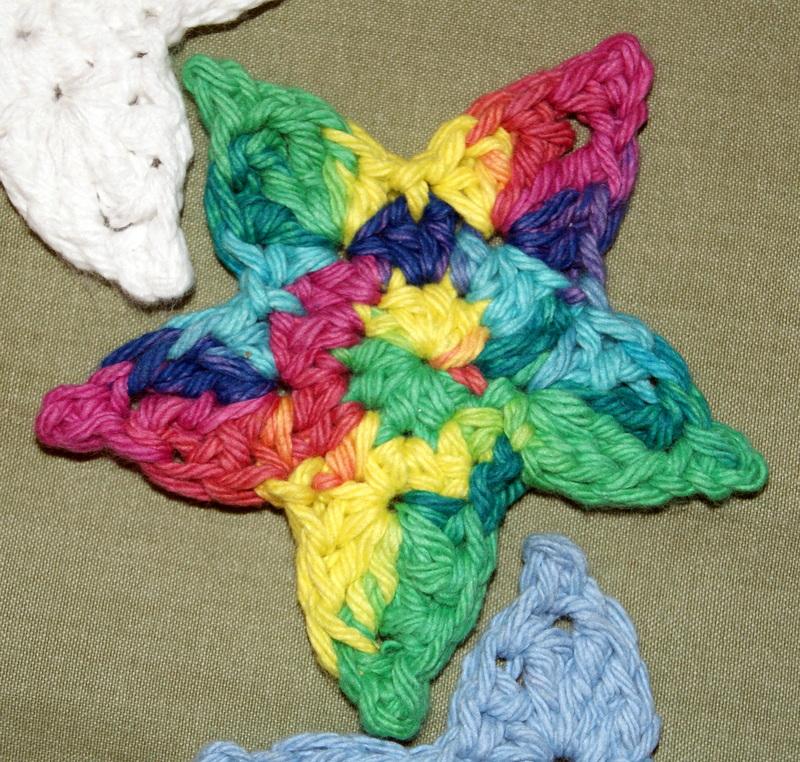 Free Crochet Star Pattern Stitch4eveR