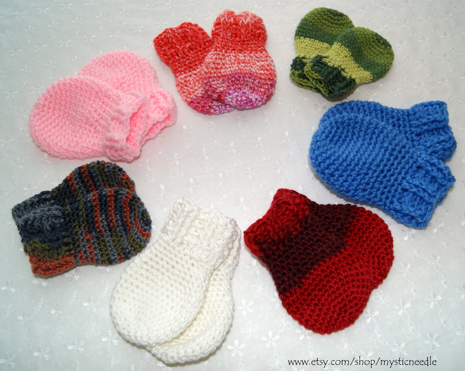 Free Crochet Pattern For Thumbless Mittens : Crochet Thumbless Mittens Stitch4eveR